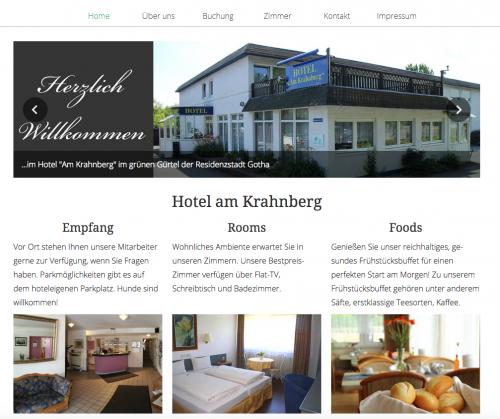 Firmenprofil von: Seminarräume in Gotha: Stadt-gut-Hotel am Krahnberg