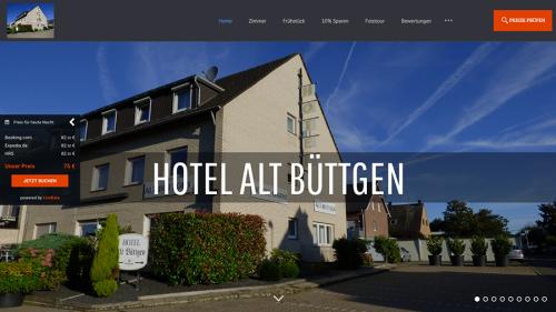 Firmenprofil von: Günstiges und gemütliches Hotel in Kaarst: Hotel Garni Alt Büttgen