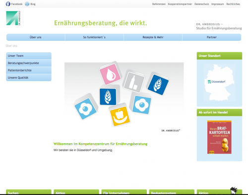 Firmenprofil von: Persönliche Ernährungsberatung in Düsseldorf: Ulrike Klingenberger – Studio für Ernährungsberatung