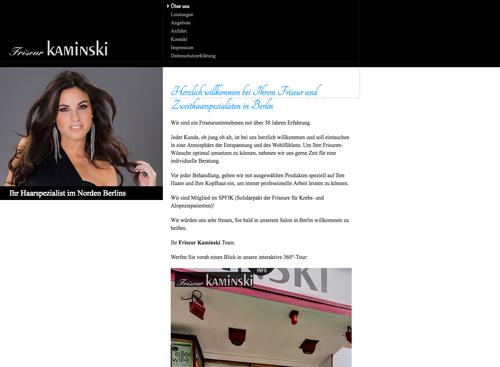 Firmenprofil von: Friseur Kaminski – Ihr Perückenstudio in Berlin