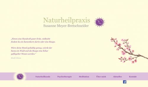 Firmenprofil von: Naturheilpraxis Susanne Meyer-Bretschneider in Dreieich