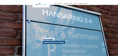 Firmenprofil von: Kanzlei für Steuerberatung Prast, Bohrmann und Engelbrecht in Wesel: Erfahrene Experten für Ihre Sicherheit