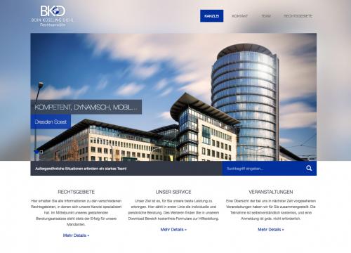 Firmenprofil von: Kanzlei BKD Boin, Küseling, Diehl - Rechtsanwälte in Dresden