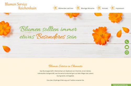 Firmenprofil von: Blumenfachgeschäft in Chemnitz: Blumen Service Reichenhain