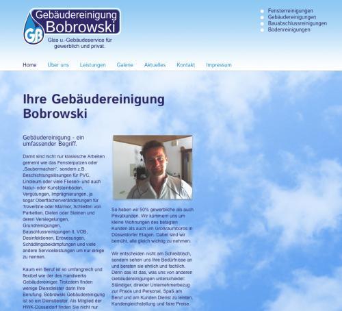 Firmenprofil von: Gebäudereinigung Bobrowski in Geldern