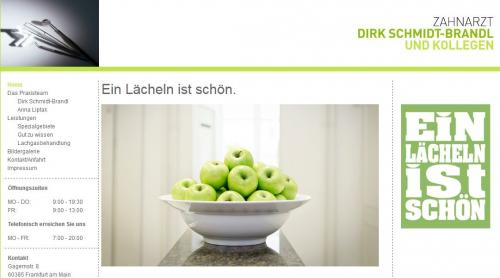 Firmenprofil von: Zahnarztpraxis Dirk Schmidt-Brandl in Frankfurt
