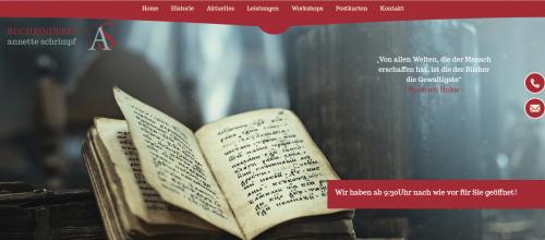 Firmenprofil von: Professionelle Buchbindung – Buchbinderei Schrimpf in Mannheim