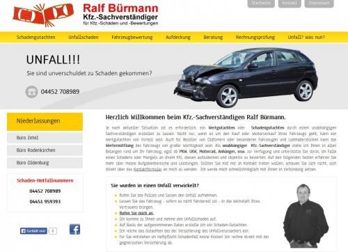 Firmenprofil von: Ralf Bürmann – Kfz-Sachverständiger in Zetel