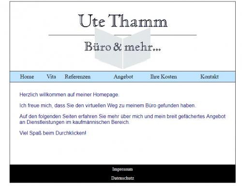 Firmenprofil von: Sorgfältige und zuverlässige Hilfe bei Schreibarbeiten und Buchführung mit Büroservice Ute Thamm