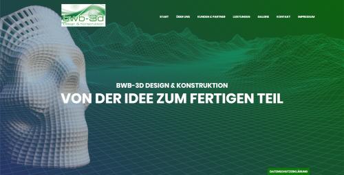 Firmenprofil von: Von der Idee bis zur Serienreife: bwb-3d Design & Konstruktion in Backnang