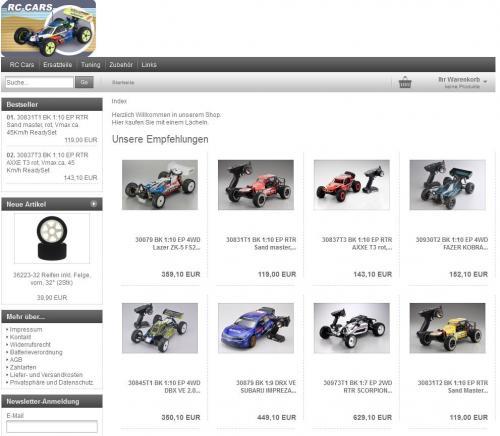 Firmenprofil von: Werner Siebert: Online-Shop für RC Cars