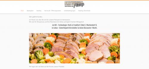 Firmenprofil von: Schmackhafter Partyservice von der Fleischerei aus Frankfurt