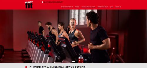 Firmenprofil von: Dein Fitnessstudio in Mannheim-Neckarstadt: cleverfit