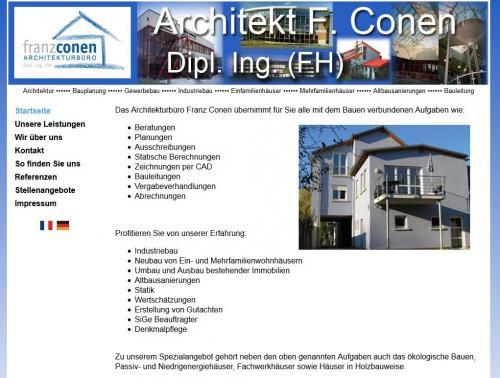 Firmenprofil von: Franz Conen Architekturbüro in Konz