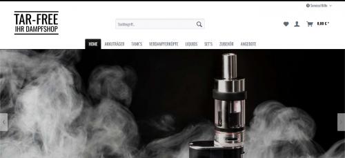 Firmenprofil von: E-Zigaretten im Dampfershop von Tar-free