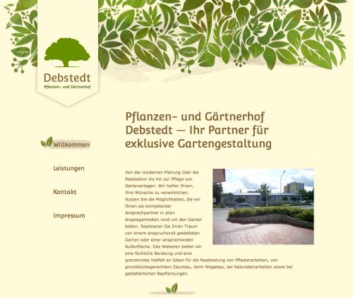 Firmenprofil von: Garten- und Landschaftsbau in Langen: Pflanzen- und Gärtnerhof Debstedt
