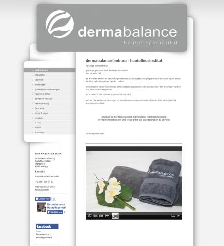 Firmenprofil von: Hautpflegeinstitut Dermabalance in Limburg