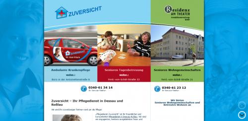 Firmenprofil von: Die häusliche Pflege Ihres Vertrauens: Ambulante Krankenpflege ZUVERSICHT