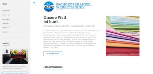Firmenprofil von: CM Folien in Schwerte – Fachgroßhandel für Werbetechnik
