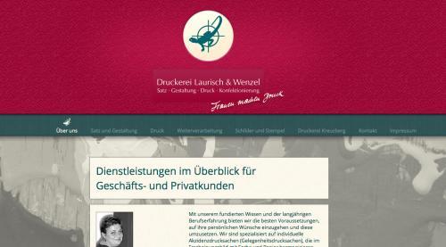 Firmenprofil von: Druckerei Laurisch und Wenzel in Berlin-Charlottenburg