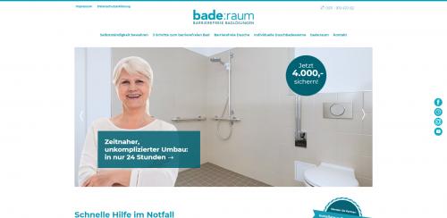 Firmenprofil von: Bleiben Sie eigenständig - mit barrierefreien Badlösungen von bade:raum