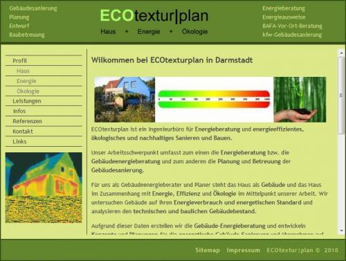 Firmenprofil von: Energieberatung in Darmstadt: ECOtextur | plan
