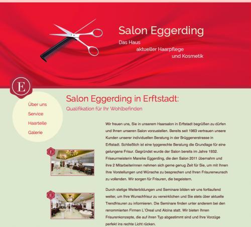 Firmenprofil von: Salon Eggerding in Erfstadt