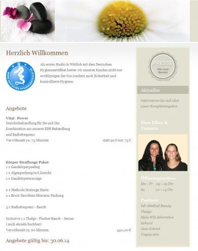 Firmenprofil von: Kosmetikstudio Nails & More Ellen Ritz in Wittlich