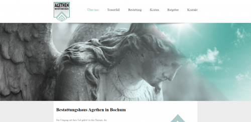 Firmenprofil von: Erdbestattungen vom Bestattungshaus Hans-Martin Agethen