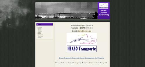 Firmenprofil von: Europaweite Kurierdienste von Hexso Transporte
