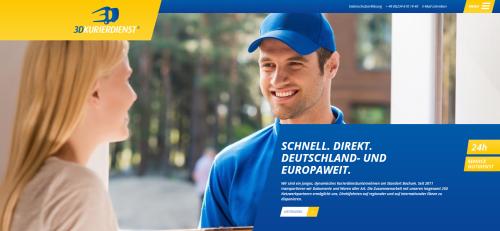 Firmenprofil von: Direkter, europaweiter Service: 3D Kurierdienst