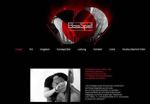 Firmenprofil von: Musikschule BassSpiel Holger Fabry in Köln
