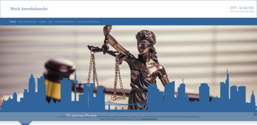 Firmenprofil von: Führerscheinentzug muss nicht sein: Rechtsanwalt Stock aus Frankfurt