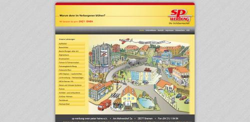 Firmenprofil von: Werbewirksame Fahrzeugbeschriftung mit sp-werbung in Bremen