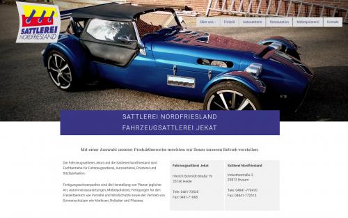 Firmenprofil von: Fahrzeugsattlerei Jekat in Heide und Husum