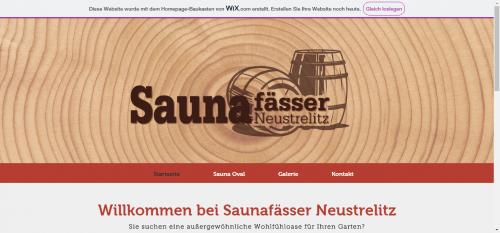 Firmenprofil von: Fasssauna Neustrelitz: Platzsparende Saunafässer für den Außenbereich