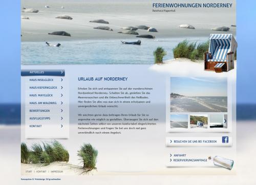 Firmenprofil von: Reinhold Papenfuß - Ferienwohnungen auf Norderney