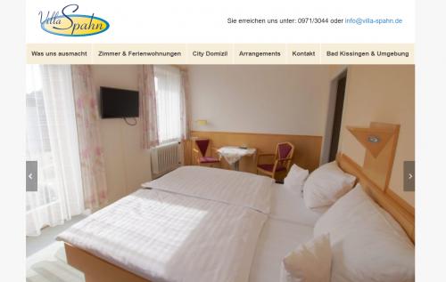 Firmenprofil von: Villa Spahn in Bad Kissingen: Gemütliche Ferienwohnungen in zentraler Lage