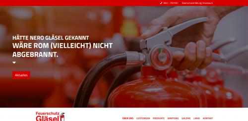 Firmenprofil von: Feuerschutz Gläsel – Ihr Experte für Brandschutz in Kaiserslautern