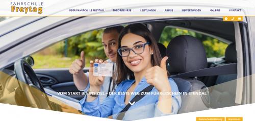Firmenprofil von: Fahrschule Freytag: qualifizierte Gabelstaplerfahrerausbildung in Stendal