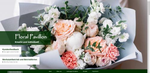 Firmenprofil von: Floral Pavillon in Berlin: Die perfekte Adresse in Sachen Floristik