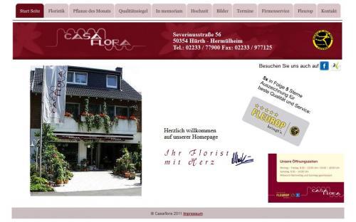 Firmenprofil von: Blumenfachgeschäft: Casa Flora Manfred Lieven in Hürth