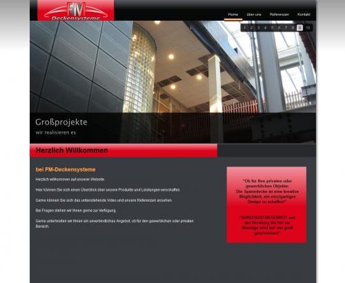 Firmenprofil von: FM-Deckensysteme in Bedburg-Hau
