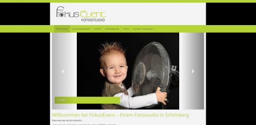 Firmenprofil von: Fotostudio mit Charme: Fokusevent in Schönberg