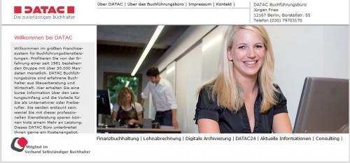 Firmenprofil von: DATAC: Buchhaltung und Lohnabrechnungen in Berlin