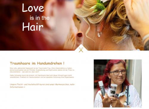 Firmenprofil von: Haare machen Leute – Haarstudio Heike Schneider in St. Wendel