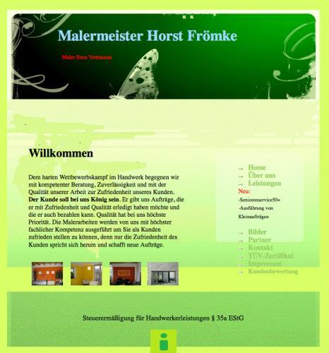 Firmenprofil von: Malermeister Horst Frömke in Regensburg