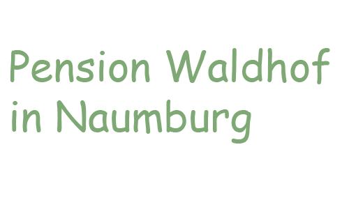 Firmenprofil von: Idyllische Urlaube in Naumburg: Frühstückspension Waldhof