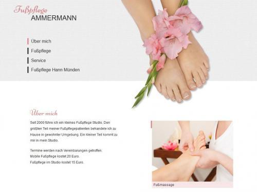 Firmenprofil von: Carmen Ammermann: Fußpflege in Hann. Münden