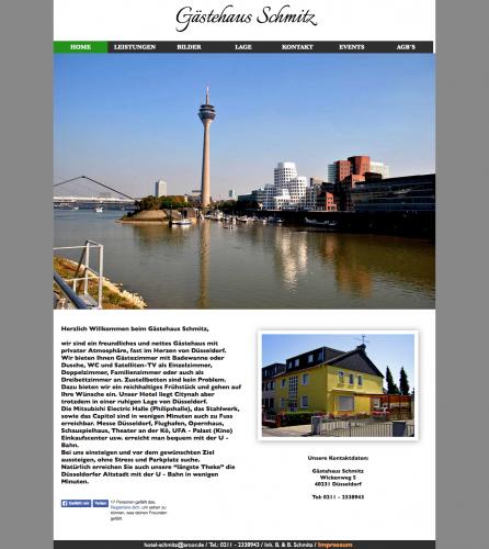 Firmenprofil von: Hotel-Gästehaus Schmitz in Düsseldorf